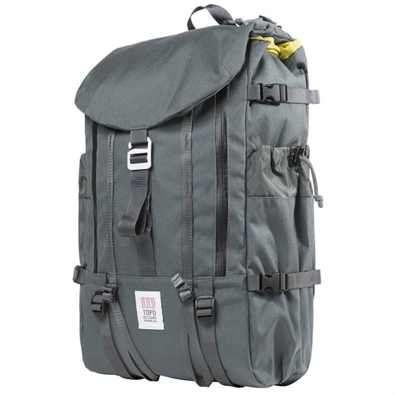 トポ・デザイン メンズ バックパック・リュックサック バッグ Mountain Backpack Charcoal