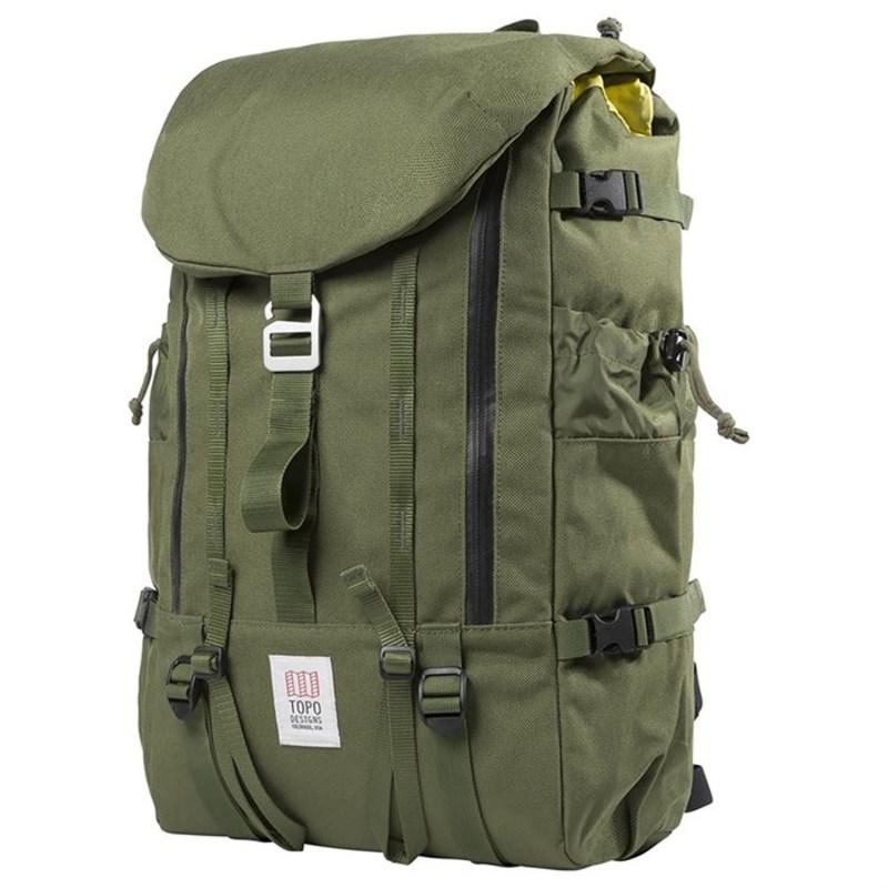 トポ・デザイン メンズ バックパック・リュックサック バッグ Mountain Backpack Olive