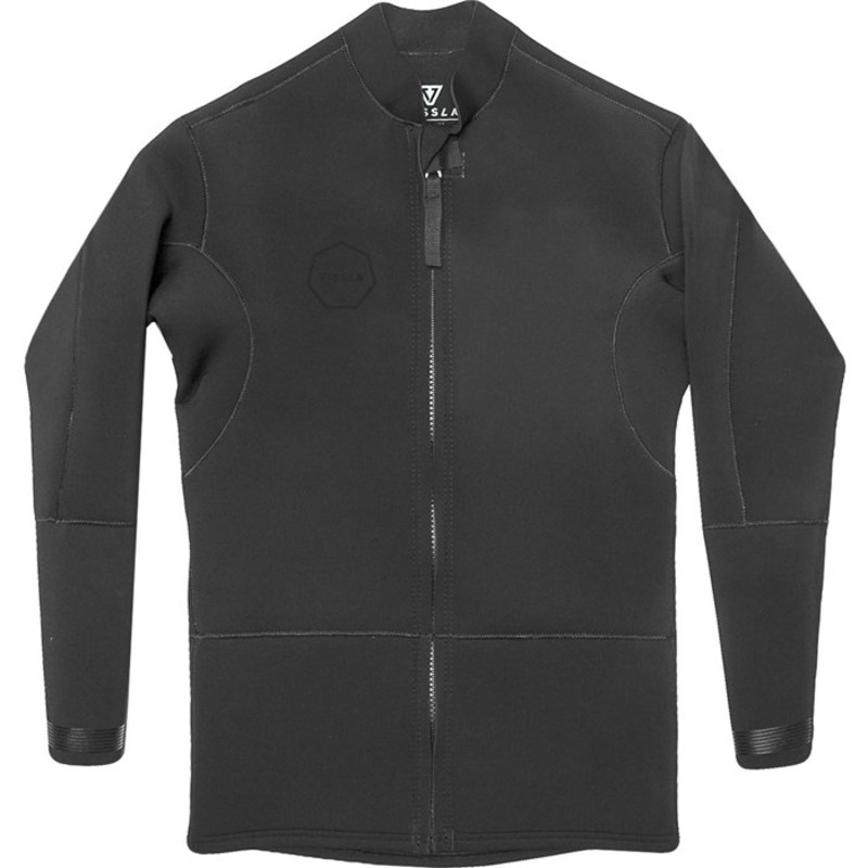 ヴィスラ メンズ 上下セット 水着 2mm Front Zip Wetsuit Jacket Stealth