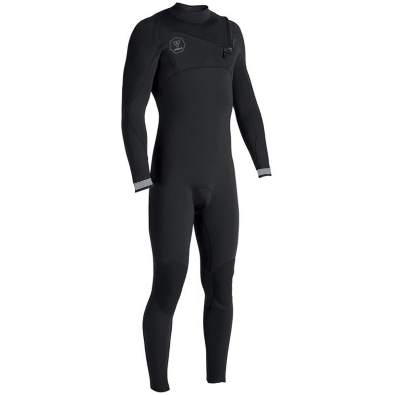 ヴィスラ メンズ 上下セット 水着 7 Seas 3/2 Chest Zip Wetsuit Black Fade