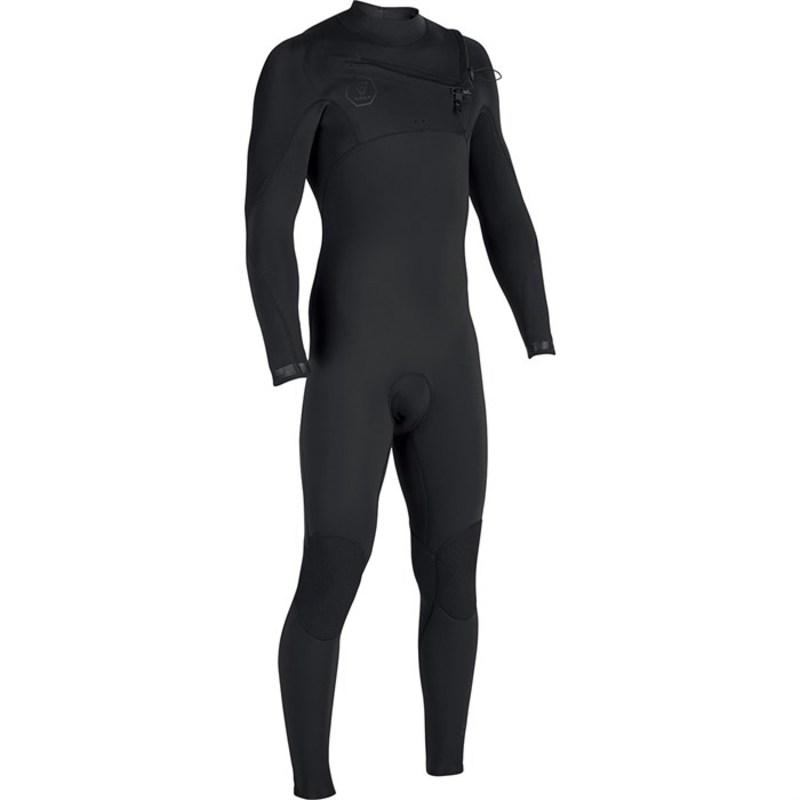 ヴィスラ メンズ 上下セット 水着 7 Seas 3/2 Chest Zip Wetsuit Stealth