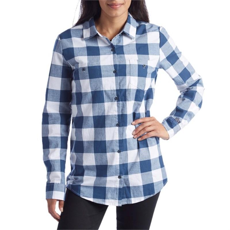 ボルコム レディース シャツ トップス Granite Flannel Shirt - Women's Vintage Navy