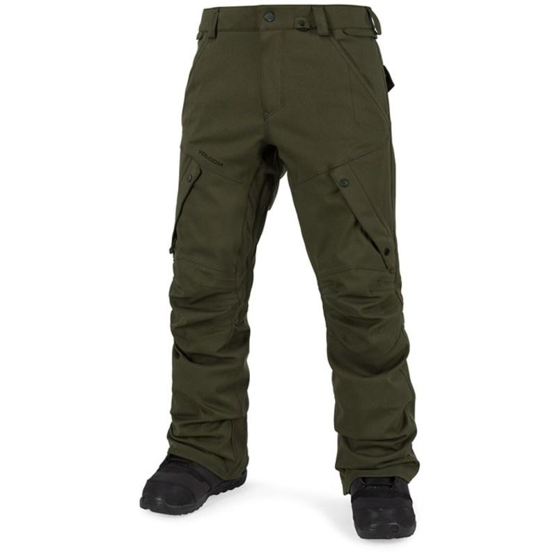 ボルコム メンズ カジュアルパンツ ボトムス Articulated Pants Military