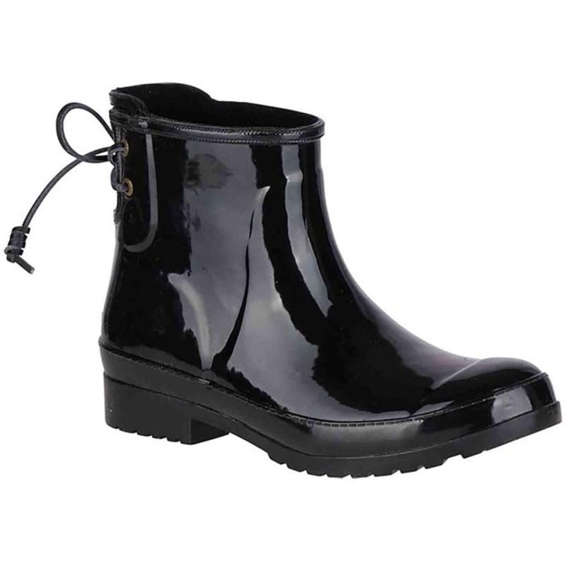 トップサイダー レディース ブーツ・レインブーツ シューズ Walker Turf Rain Boots - Women's Black