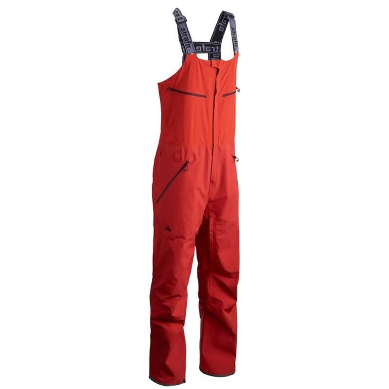 ストラフェ メンズ カジュアルパンツ ボトムス Nomad Bib Pants Warm red