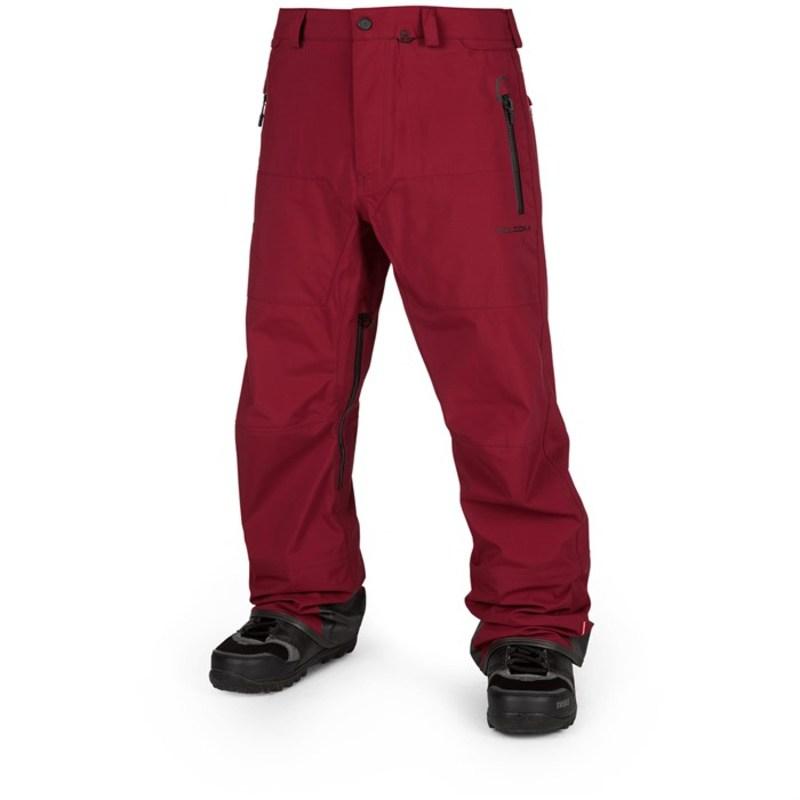 ボルコム メンズ カジュアルパンツ ボトムス Guide GORE-TEX Pants Burnt Red