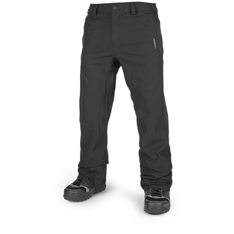 ボルコム メンズ カジュアルパンツ ボトムス Freakin Snow Chino Pants Black