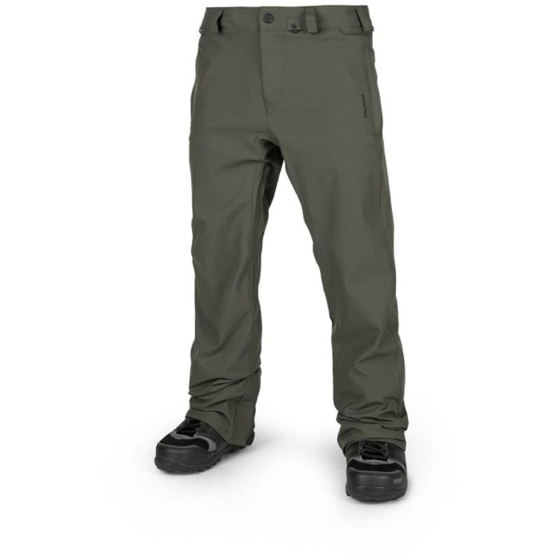 ボルコム メンズ カジュアルパンツ ボトムス Freakin Snow Chino Pants Black Green
