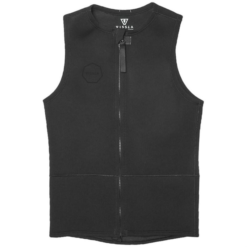 ヴィスラ メンズ 上下セット 水着 2mm Front Zip Vest Stealth