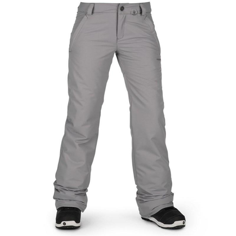 ボルコム レディース カジュアルパンツ ボトムス Frochickie Insulated Pants - Women's Charcoal