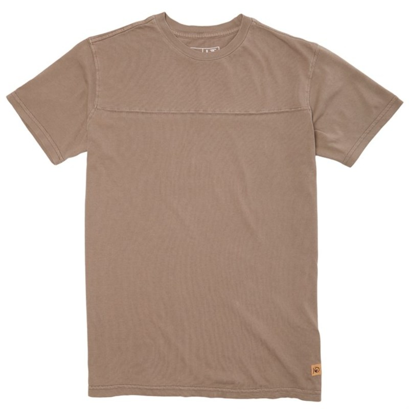 テンツリー メンズ Tシャツ トップス Plantana T-Shirt Cutch Brown