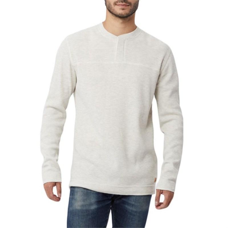 テンツリー メンズ Tシャツ トップス Bowden Long-Sleeve Henley Shirt Lunar Rock