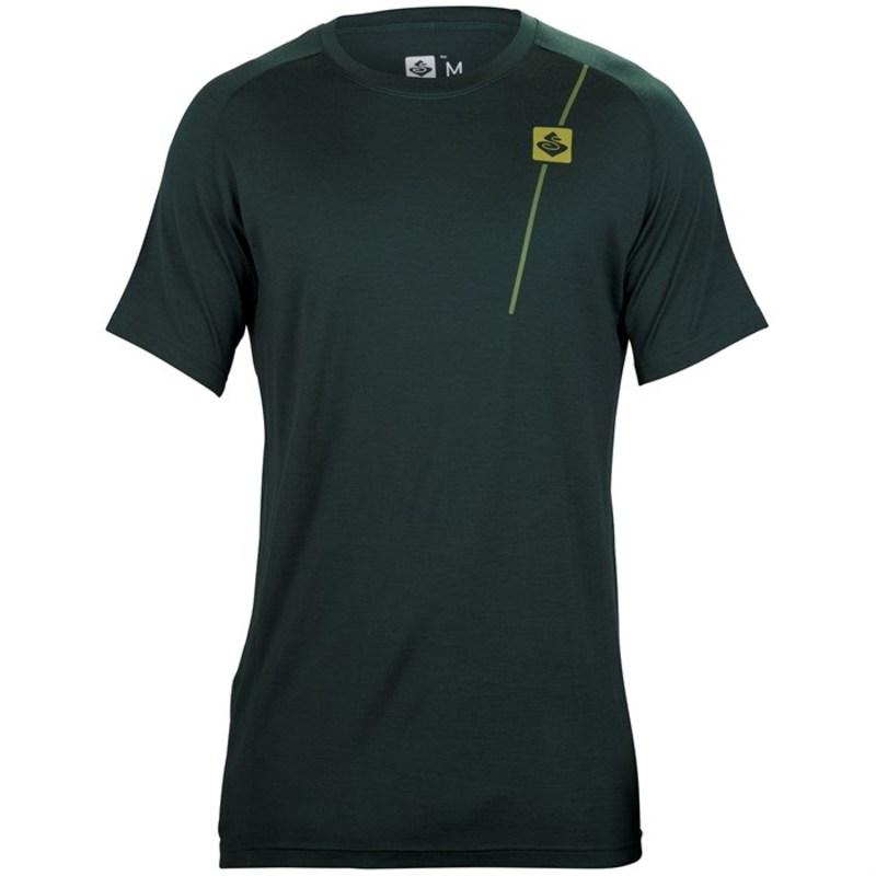 スイートプロテクション メンズ Tシャツ トップス Badlands Merino SS Jersey Forest Green