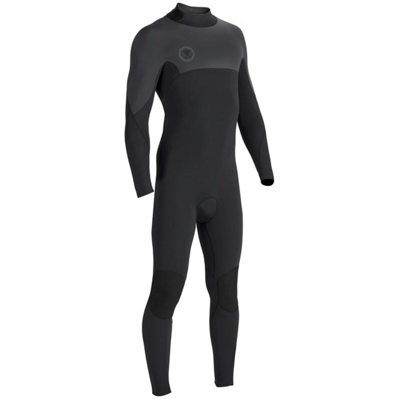ヴィスラ メンズ 上下セット 水着 Seven Seas 3/2 Back Zip Wetsuit Black Smoothy