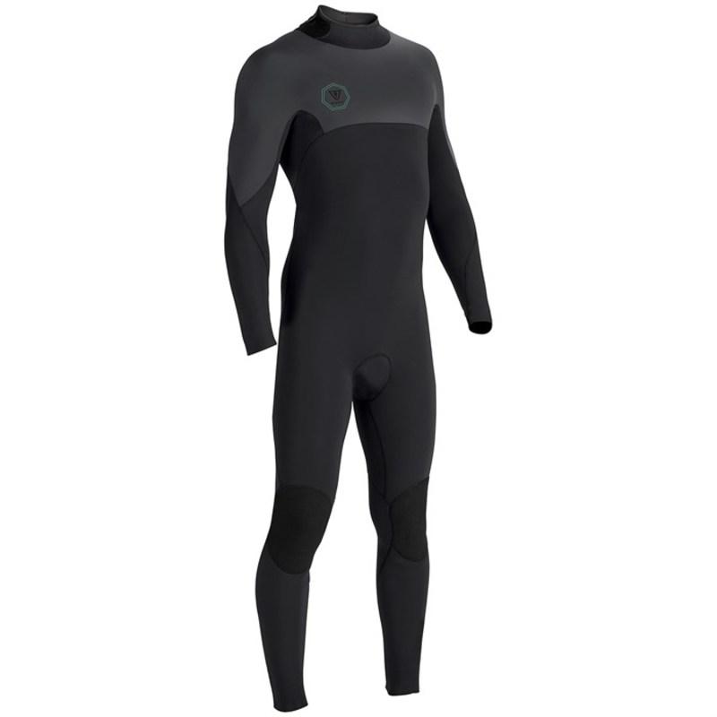 ヴィスラ メンズ 上下セット 水着 Seven Seas 4/3 Back Zip Wetsuit Black Smoothie