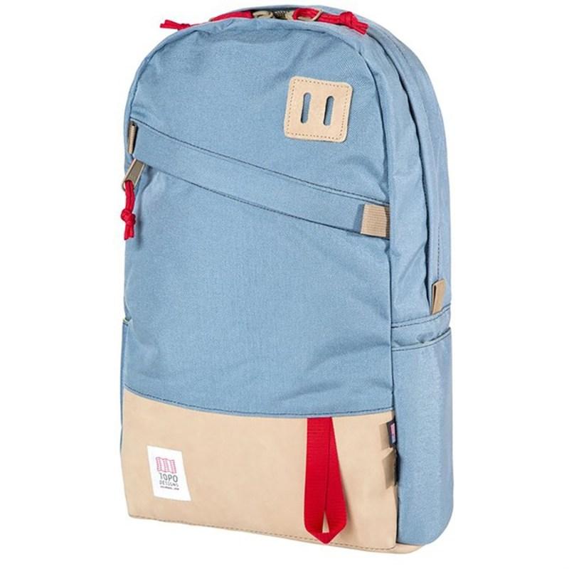 トポ・デザイン メンズ バックパック・リュックサック バッグ Daypack Backpack Storm/Khaki Leather