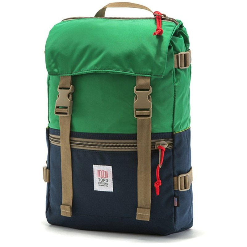 トポ・デザイン メンズ バックパック・リュックサック バッグ Rover Backpack Kelly/Navy