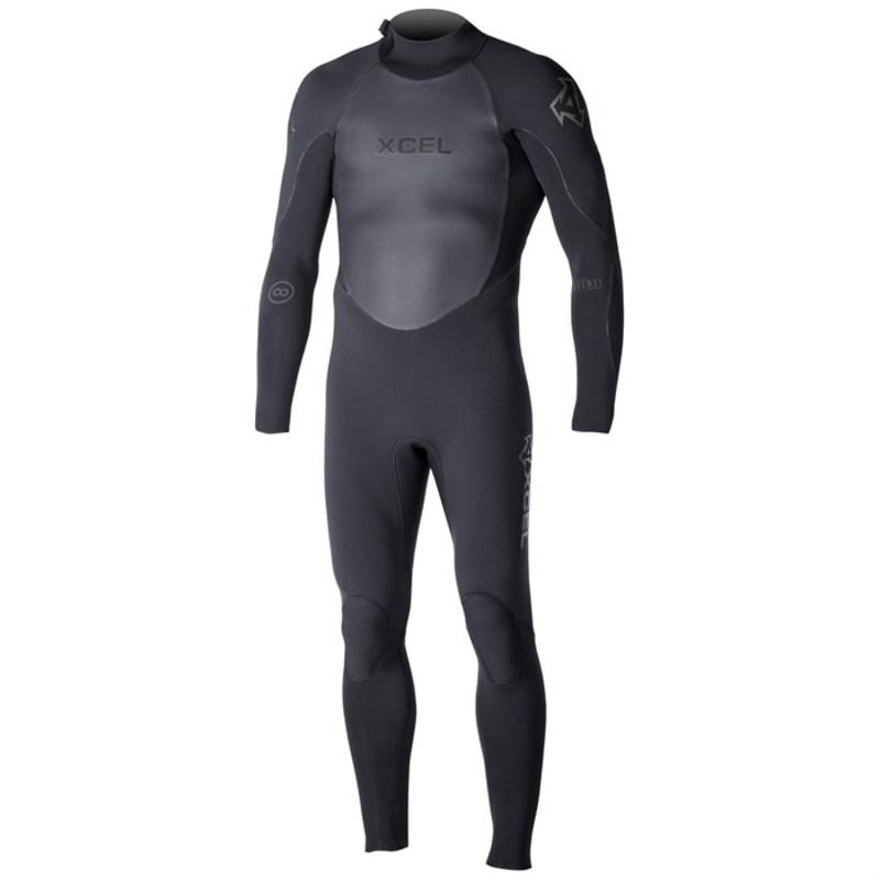 エクセル メンズ 上下セット 水着 4/3 Infiniti TDC OS Wetsuit Black