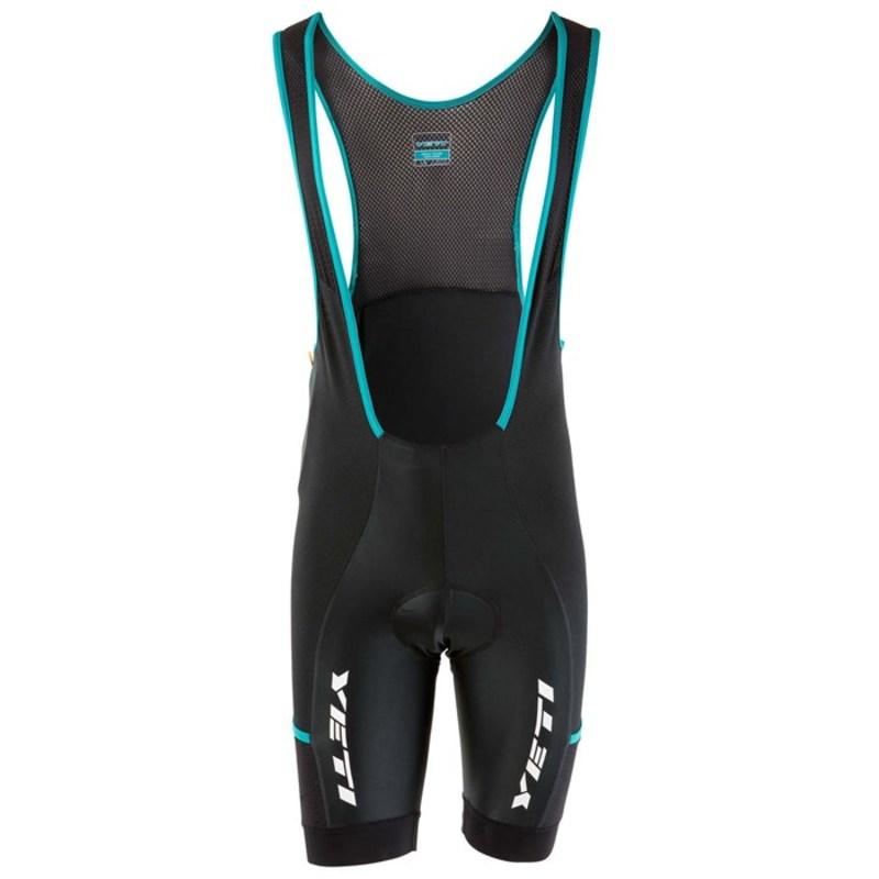 イエティ サイクル メンズ ハーフパンツ・ショーツ ボトムス Enduro Bib Shorts Turquoise/Black