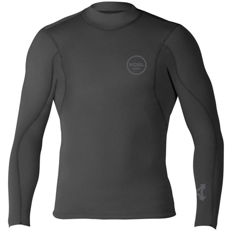 エクセル メンズ 上下セット 水着 2/1 Axis Basic Wetsuit Jacket Black