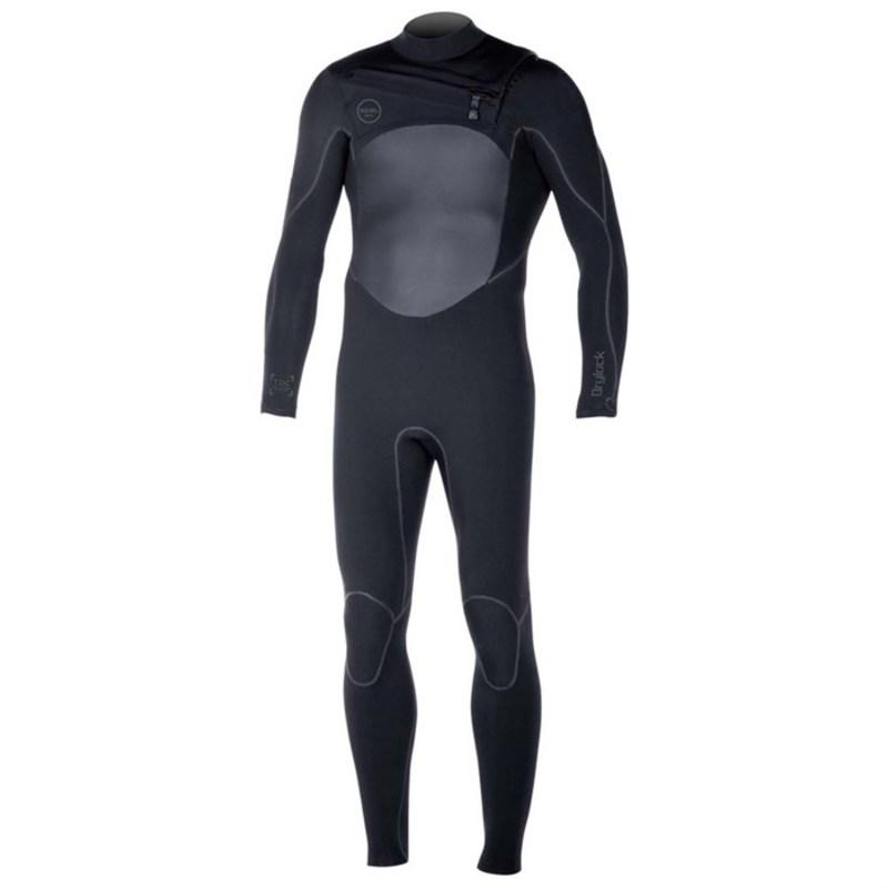エクセル メンズ 上下セット 水着 3/2 Drylock TDC Wetsuit Black