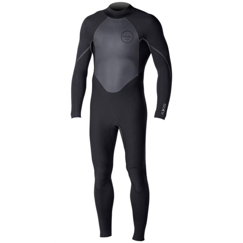 エクセル メンズ 上下セット 水着 4/3 Axis OS Wetsuit Black