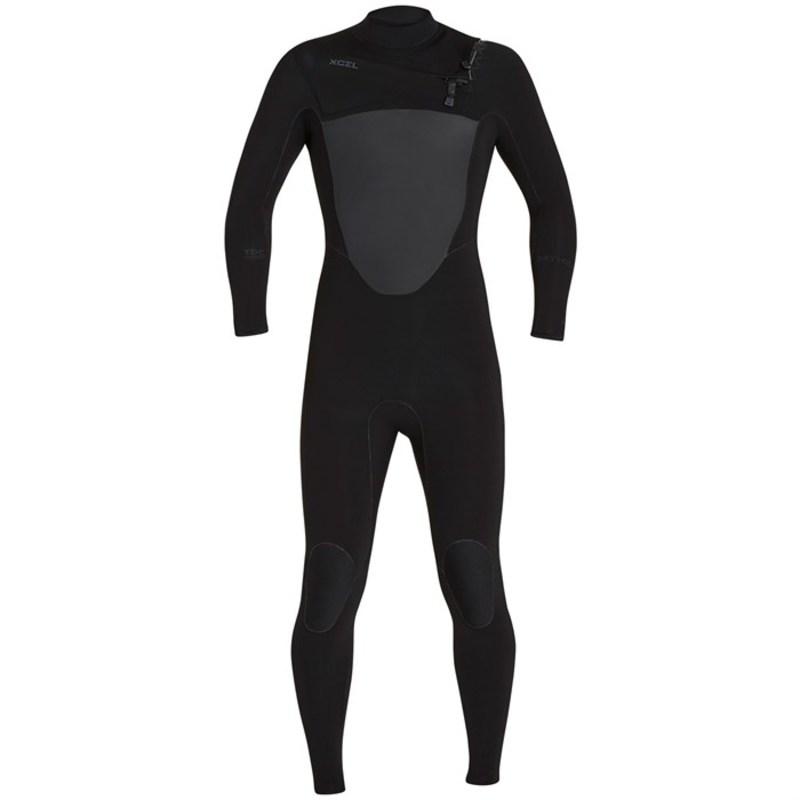 エクセル メンズ 上下セット 水着 4/3 Drylock TDC Wetsuit Black