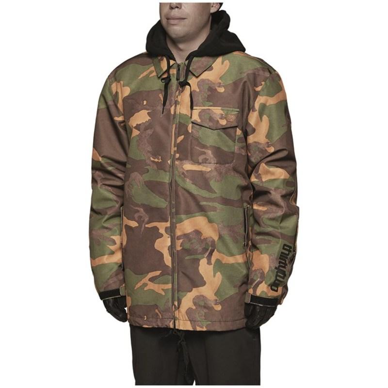 サーティーツー メンズ ジャケット・ブルゾン アウター Merchant Insulated Jacket Camo