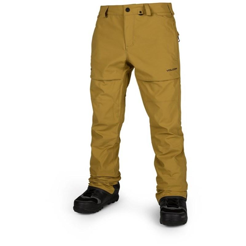 ボルコム メンズ カジュアルパンツ ボトムス Stretch GORE-TEX Pants Resin Gold