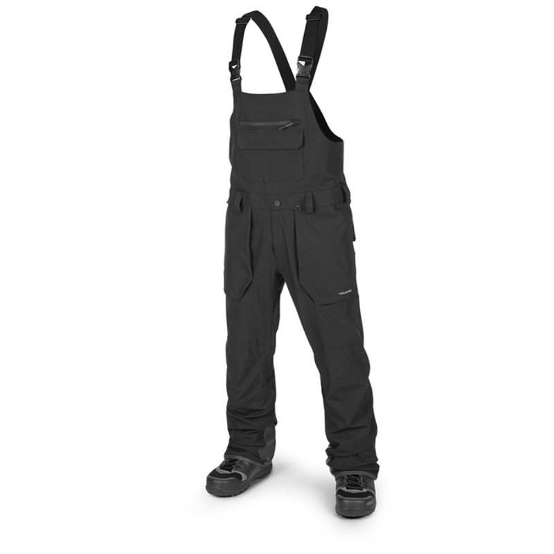 ボルコム メンズ カジュアルパンツ ボトムス Roan Bib Overalls Black