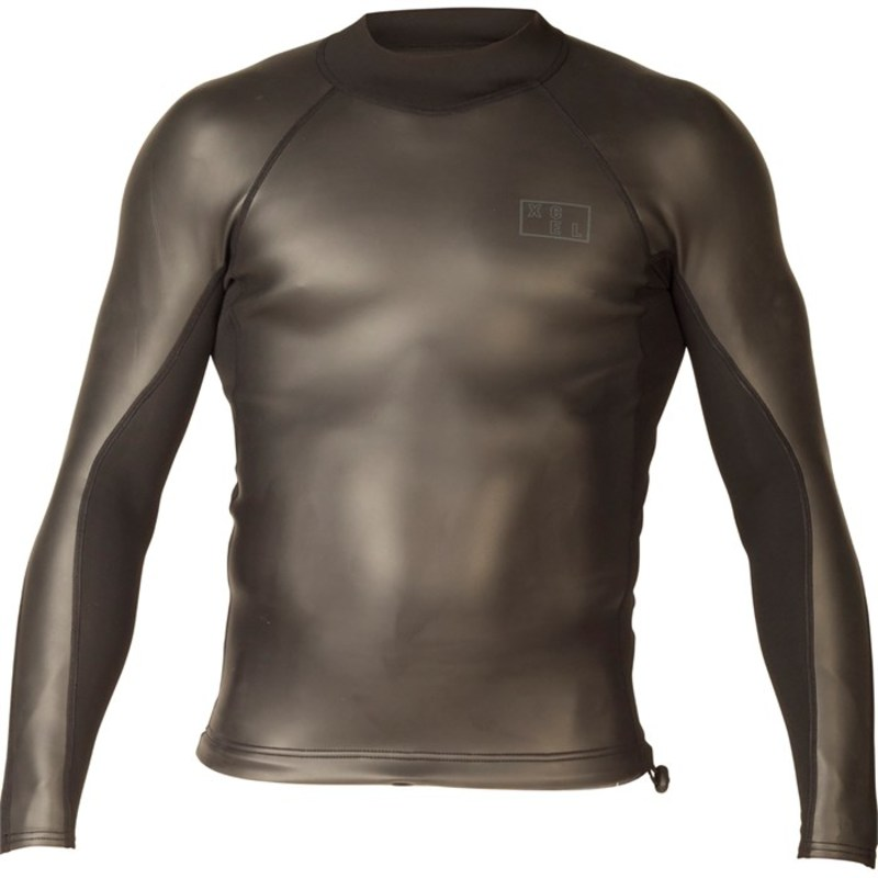 エクセル メンズ 上下セット 水着 Axis Smoothskin 1.5/1mm Long Sleeve Wetsuit Top Black