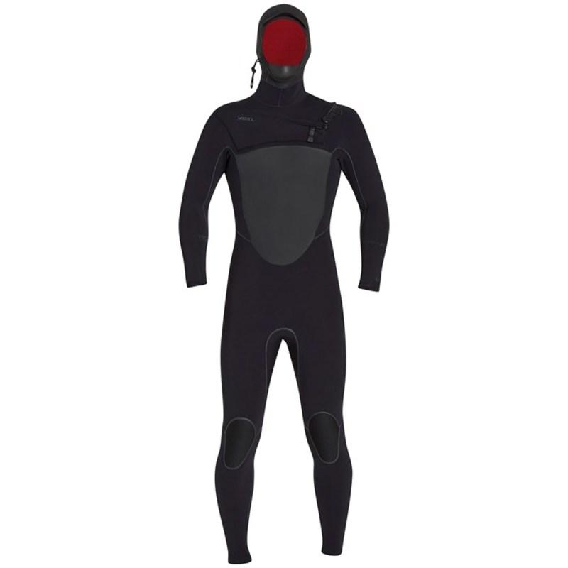 エクセル メンズ 上下セット 水着 5/4 Drylock X Hooded Wetsuit Black