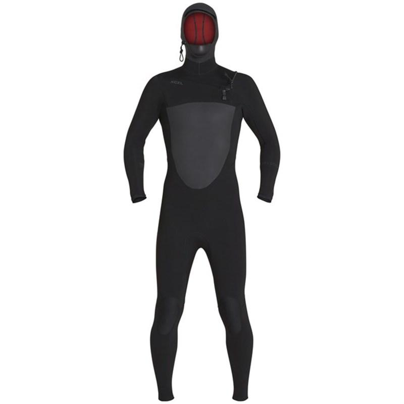 エクセル メンズ 上下セット 水着 5/4 Drylock Hooded Wetsuit Black