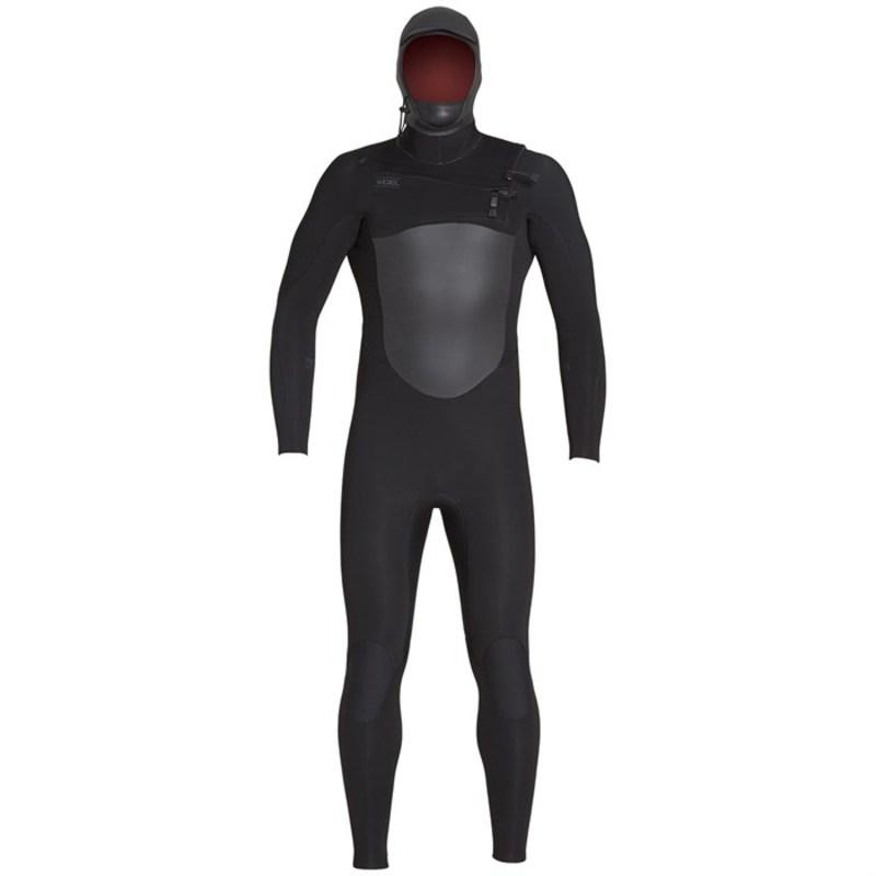 エクセル メンズ 上下セット 水着 5/4 Infiniti TDC Hooded Wetsuit Black