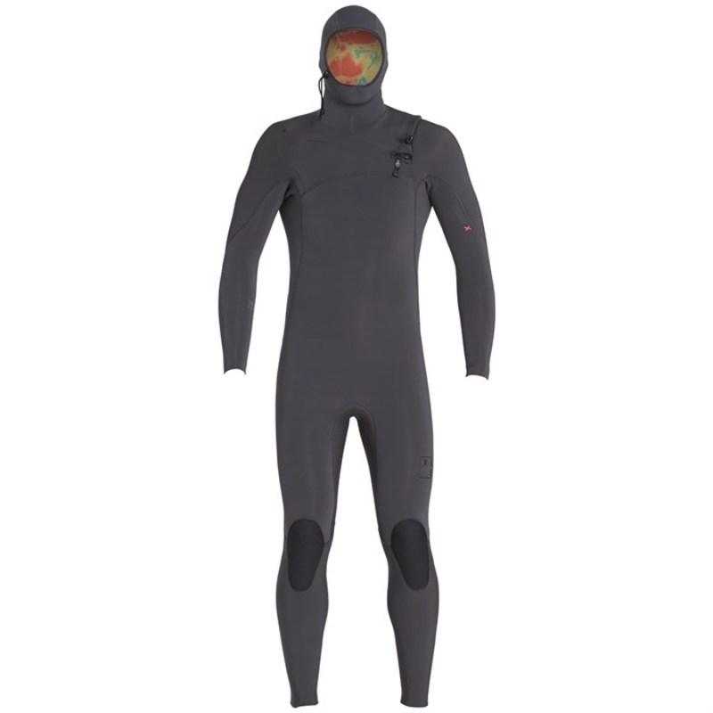 エクセル メンズ 上下セット 水着 4.5/3.5 Comp X TDC Hooded Wetsuit Graphite