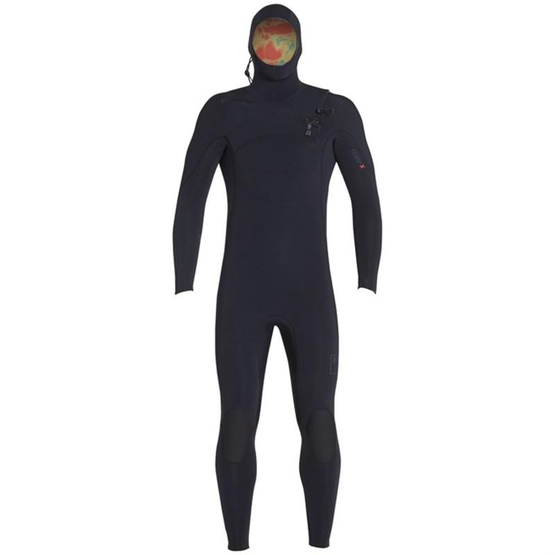 エクセル メンズ 上下セット 水着 5.5/4.5 Comp X TDC Hooded Wetsuit Black