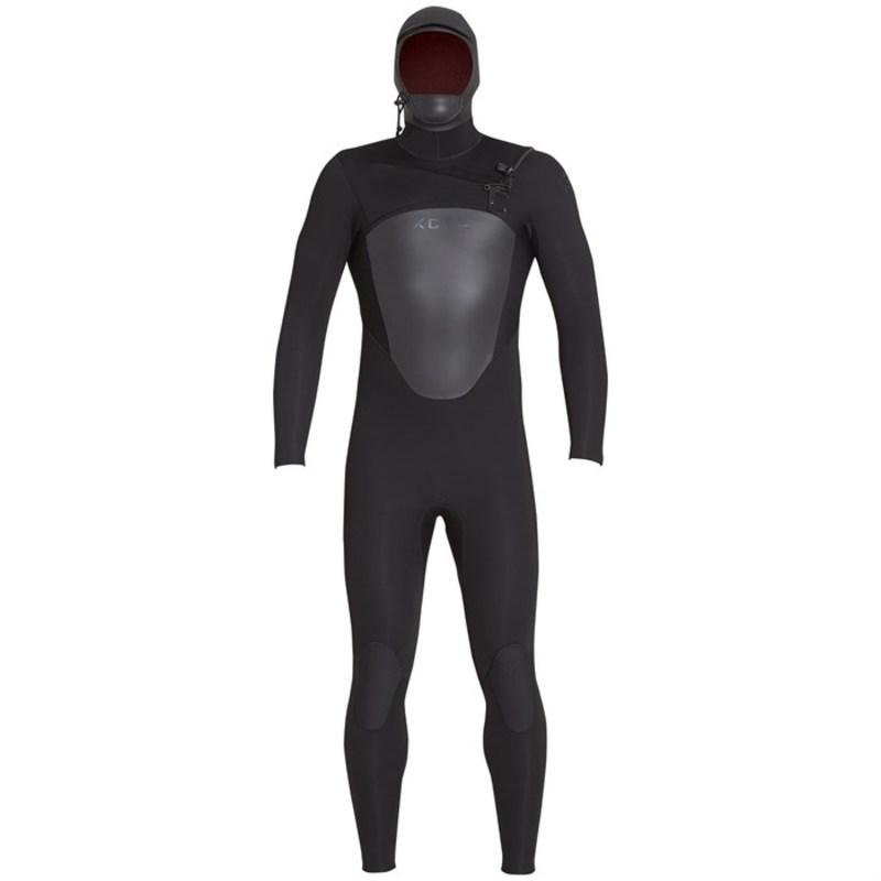 エクセル メンズ 上下セット 水着 5/4 Axis Hooded Wetsuit Black