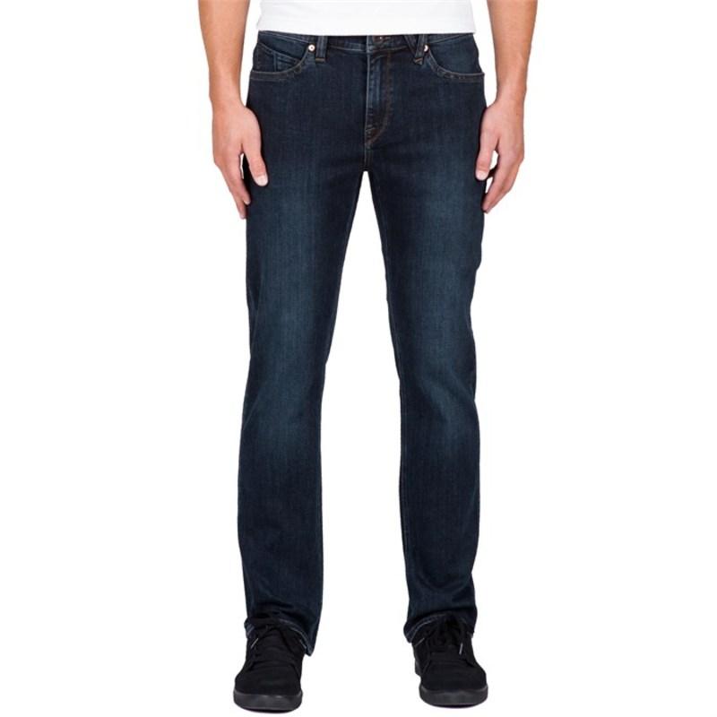 ボルコム メンズ カジュアルパンツ ボトムス Solver Jeans Vintage Blue