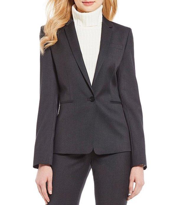 アントニオ メラーニ レディース ジャケット・ブルゾン アウター Made with Loro Piana Fabric Nicole Blazer Jacket Grey