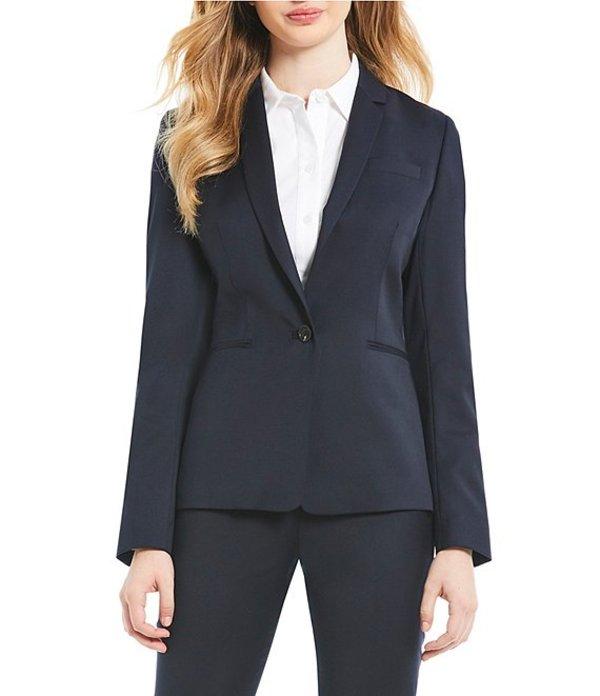 アントニオ メラーニ レディース ジャケット・ブルゾン アウター Made with Loro Piana Fabric Nicole Blazer Jacket Navy