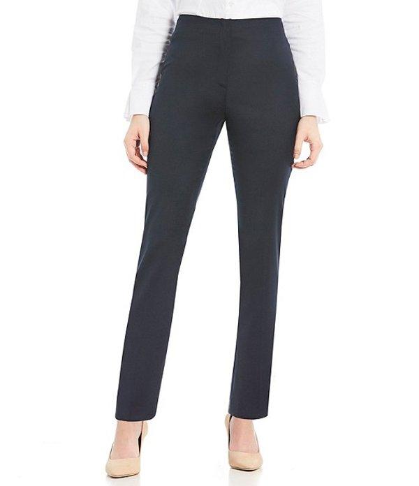 アントニオ メラーニ レディース デニムパンツ ボトムス Made with Loro Piana Fabric Theo Straight Leg Pants Navy