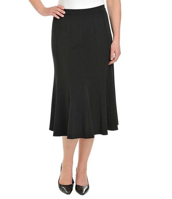 アリソン デイリー レディース スカート ボトムス A-Line Midi Skirt Black