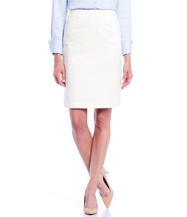 カルバンクライン レディース スカート ボトムス Pencil Skirt Cream