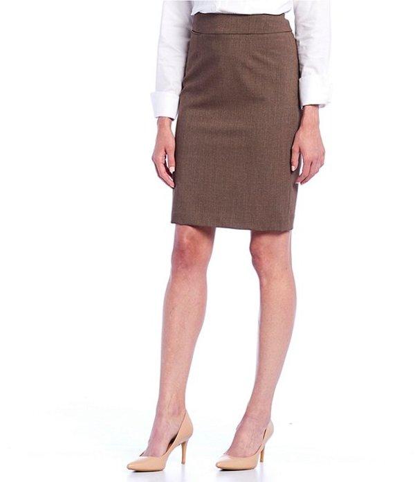 カルバンクライン レディース スカート ボトムス Pencil Skirt Heather Taupe