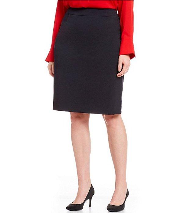 カルバンクライン レディース スカート ボトムス Plus Pencil Skirt Navy