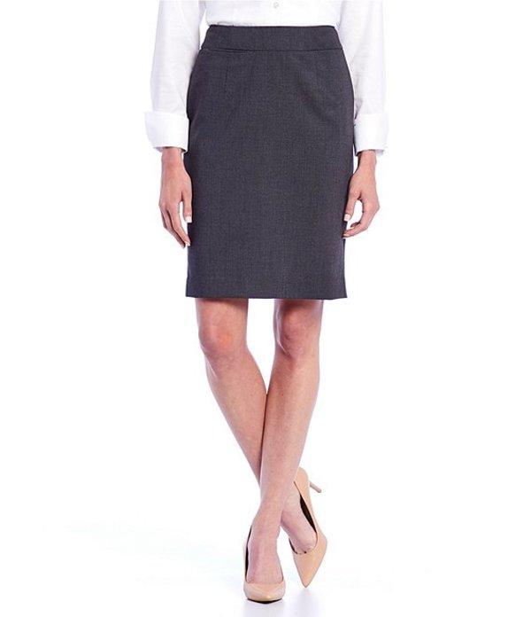 カルバンクライン レディース スカート ボトムス Petite Pencil Skirt Charcoal