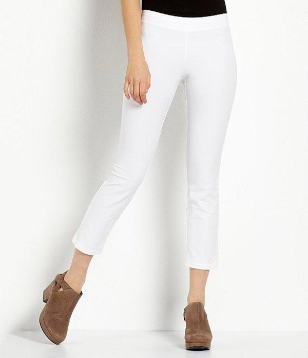 エイリーンフィッシャー レディース カジュアルパンツ ボトムス Crepe Ankle Pants White