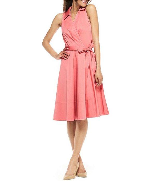 ギャルミーツグラム レディース ワンピース トップス Petite Size Heather Cotton Midi Wrap Dress Rose Mist