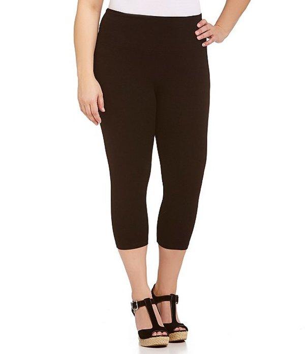 イントロ レディース カジュアルパンツ ボトムス Plus Love the Fit Capri Leggings Ebony Black