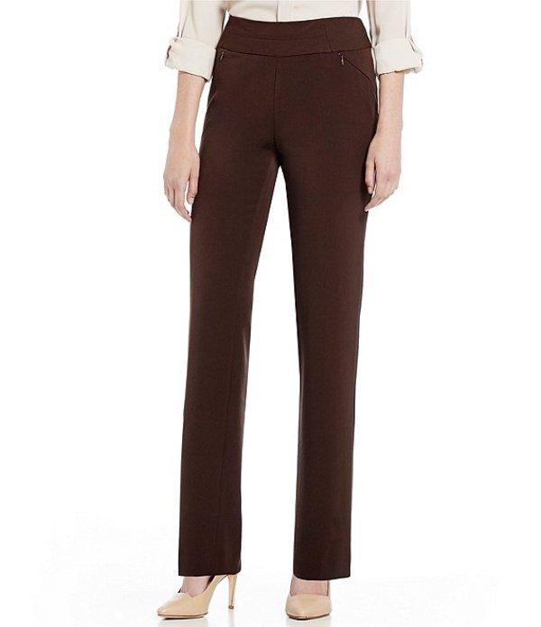 インベストメンツ レディース デニムパンツ ボトムス the PARK AVE fit Pull-On Pant with Pockets Coffee